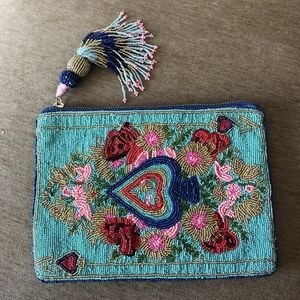 #anthropologie beaded #clutch